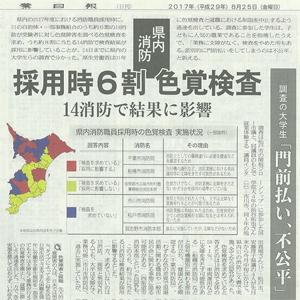千葉日報 2017/08/25
